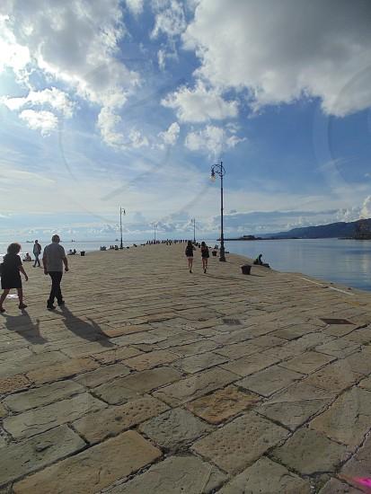 Trieste Port Italy  photo