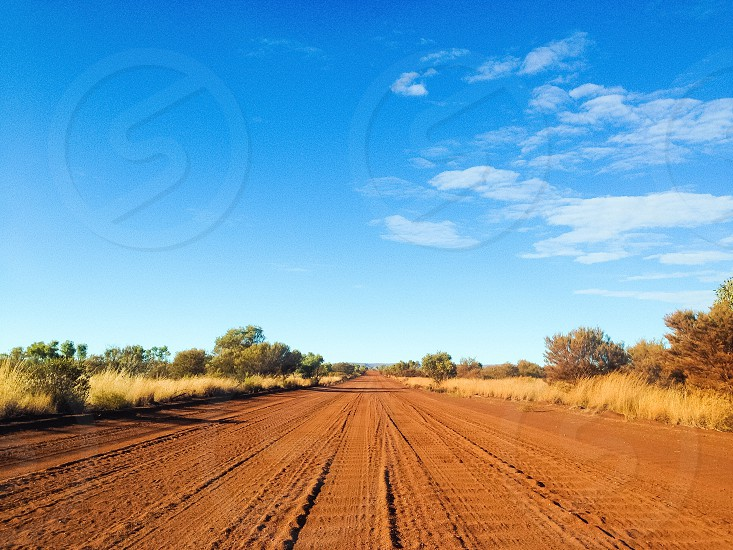 view of a dirt road photo