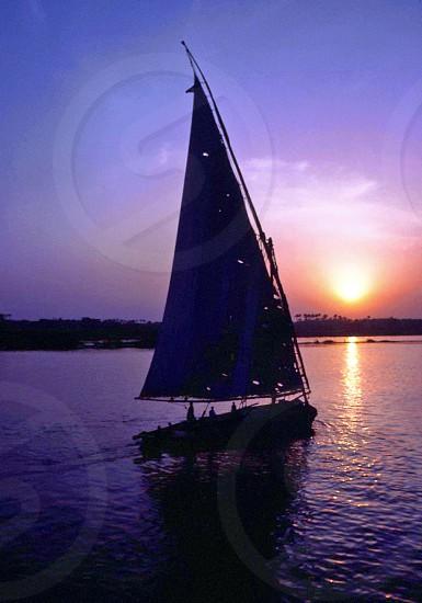 Felucca on the Nile photo