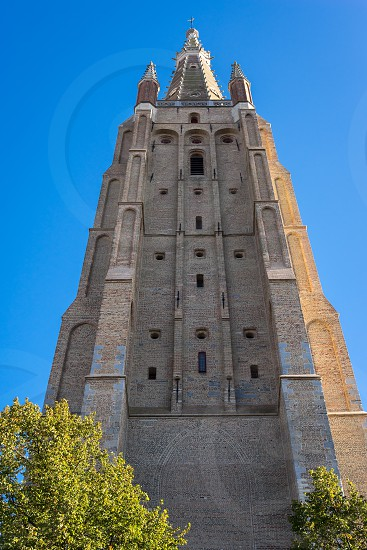 Church of Our Lady in Bruges West Flanders Belgium photo