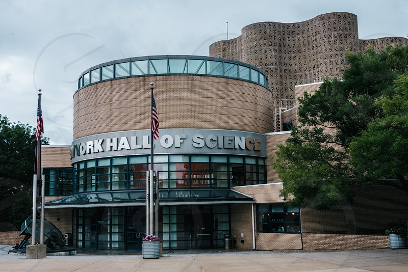 """New York City Hall of Science photographed for Google's """"Points of Interest"""" program. photo"""