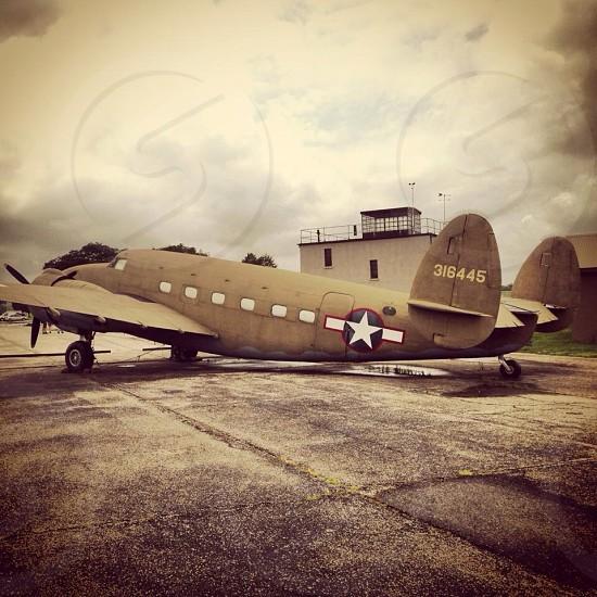 Vintage Plane photo