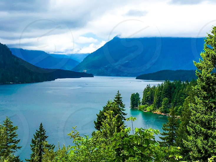 Lake Cushman Washington State  photo