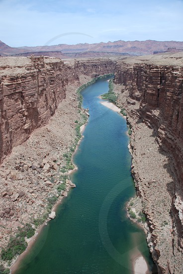 Marble Canyon Navajo Bridge Colorado River photo