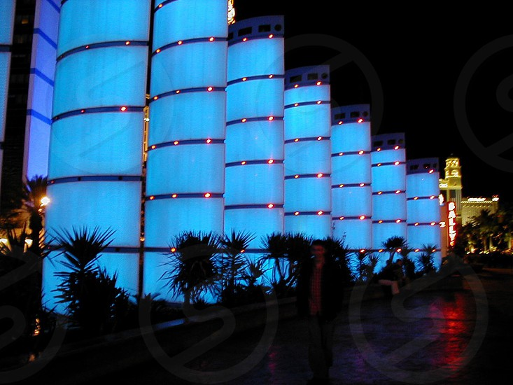 Las Vegas lights photo