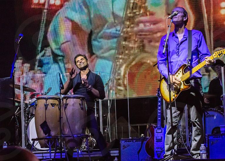 Beach Boys concert at the USS Iowa in San Pedro CA photo