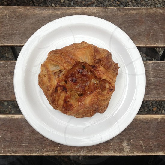 Onion Thyme Gruyere Pastry.  photo