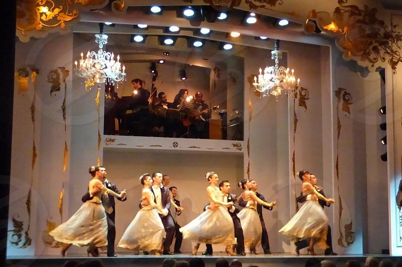 Dancing Stage Performance Tango photo