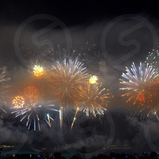 fireworks in the sky photo