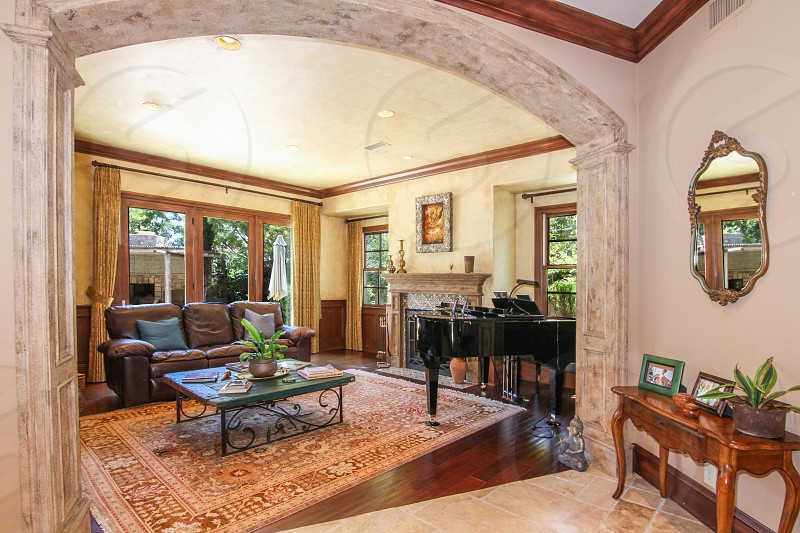 Interior shot for a real estate listing  photo