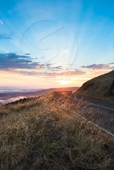 Road Transportation Travel Adventure Nature Light Sunset Exploration Fitness Lifestyle  California San Francisco photo
