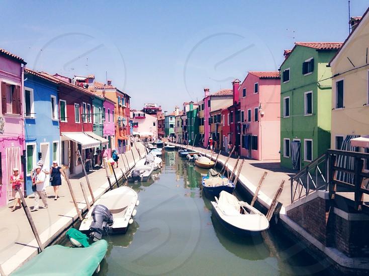 Burano Italy photo