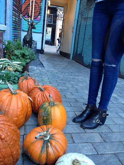Halloween alleyway Nottingham  photo