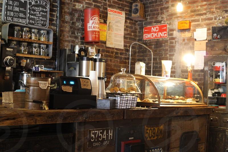Cozy Brooklyn coffee house.  photo