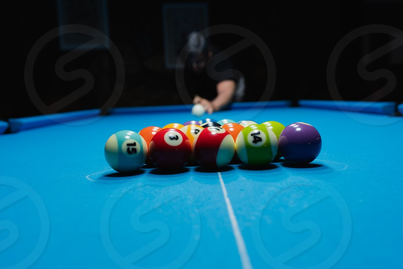 Game start at pool photo