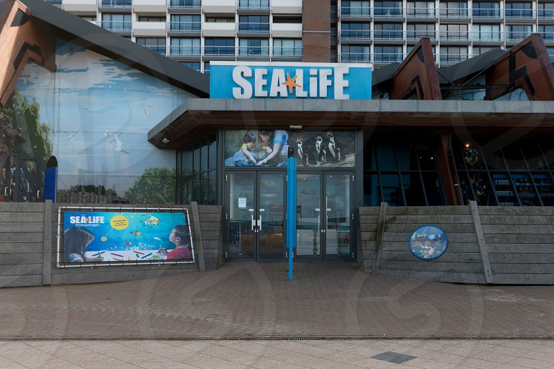 Sea Life Scheveningen- the Hague  the Netherlands. A permanent exhibition about sea life underneath the waves. photo