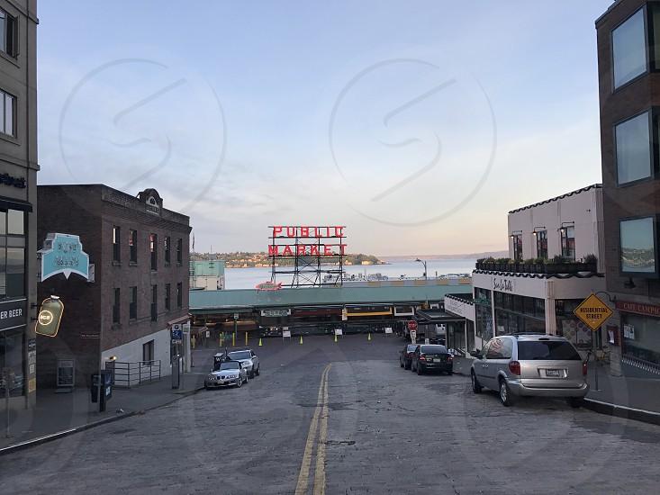 Seattle Wa. Pike Place market. photo