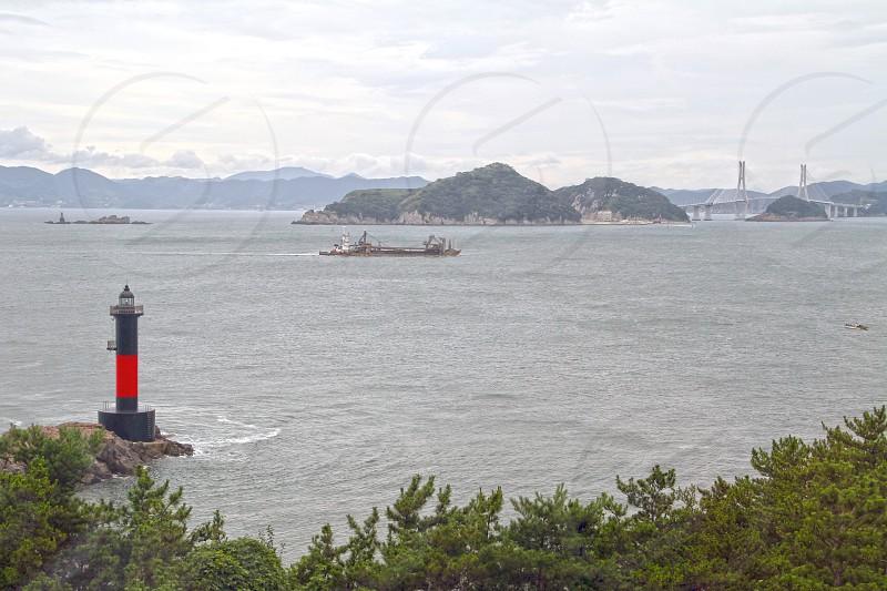 View of Geoje-do island in South Korea. photo