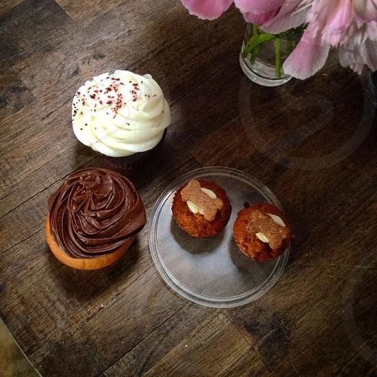 Family cupcakes.  photo