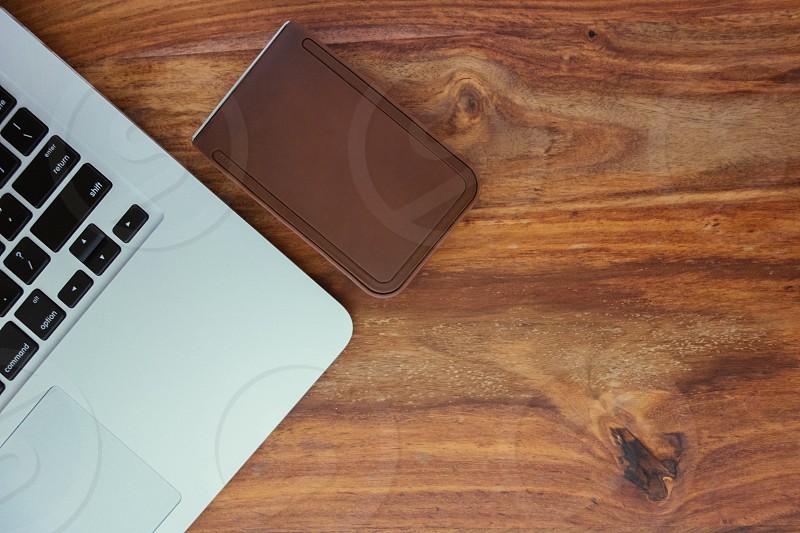 white laptop photo