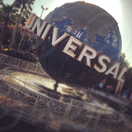 Universal globe. Universal studios orlando photo
