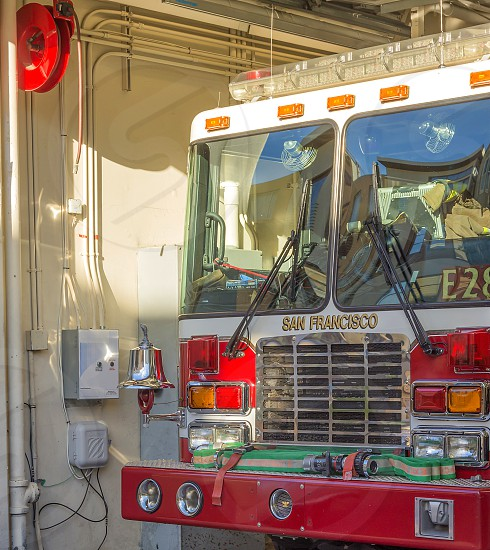 San Francisco fire engine photo