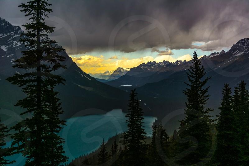 Peyto Lake Canada photo
