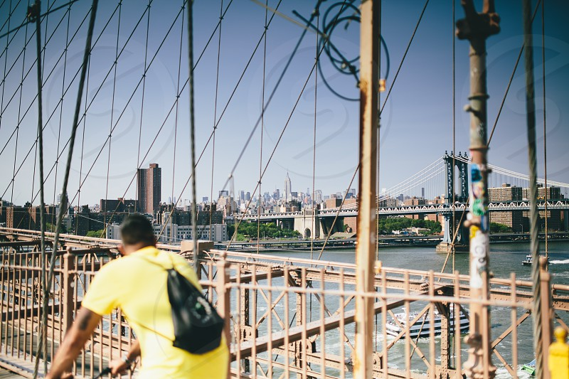 Brooklyn Bridge NYC. photo