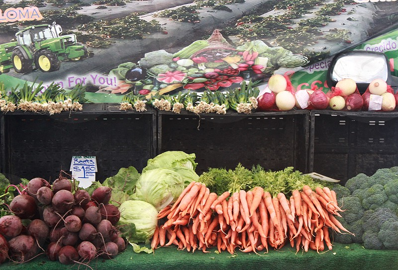Farmers Market Hermosa Beach California photo