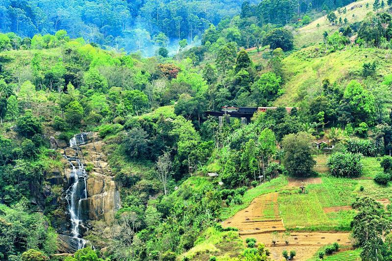 #ella #srilanka #travel #waterfall #train #scenery #green #worldclass  photo