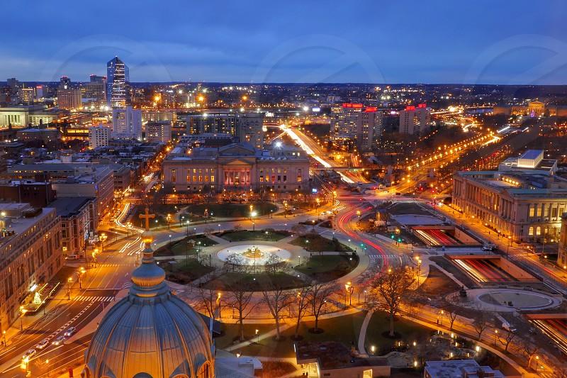 Philadelphia view from above  photo