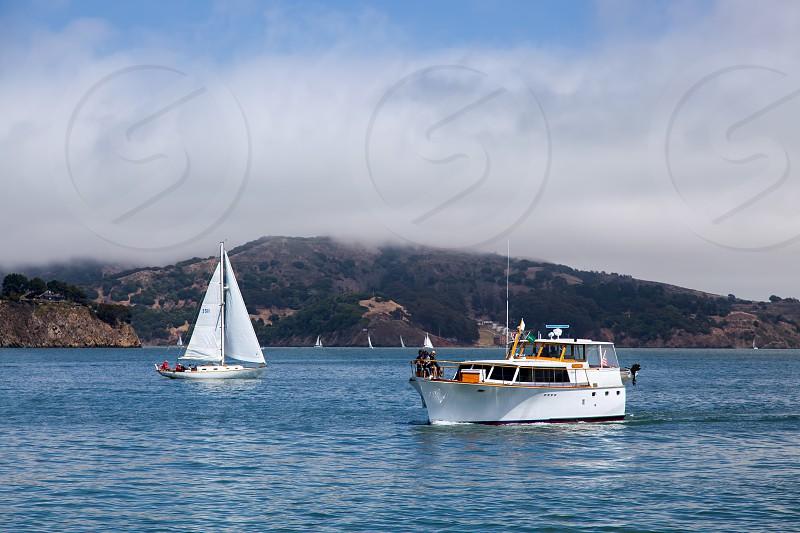 Approaching Sausalito Marina photo