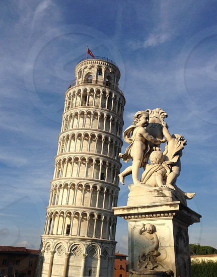 The leaning tower of Pisa Italy  photo