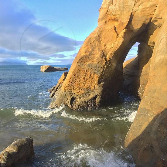 Cape Kiwanda Pacific City Oregon coast photo