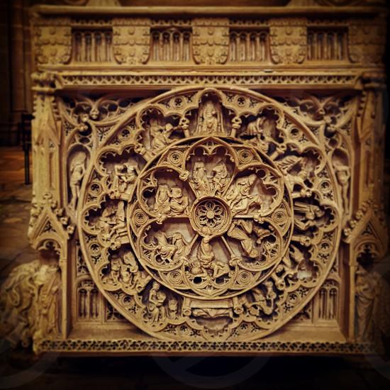 Tomb architecture art style design rococo Monastery photo