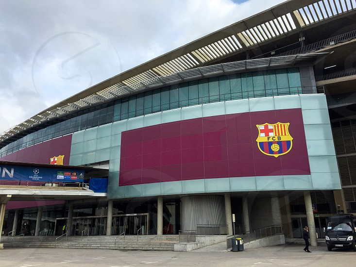 Camp Nou Nou Camp Barcelona FC Barcelona Barca football stadium estadi Europe  photo