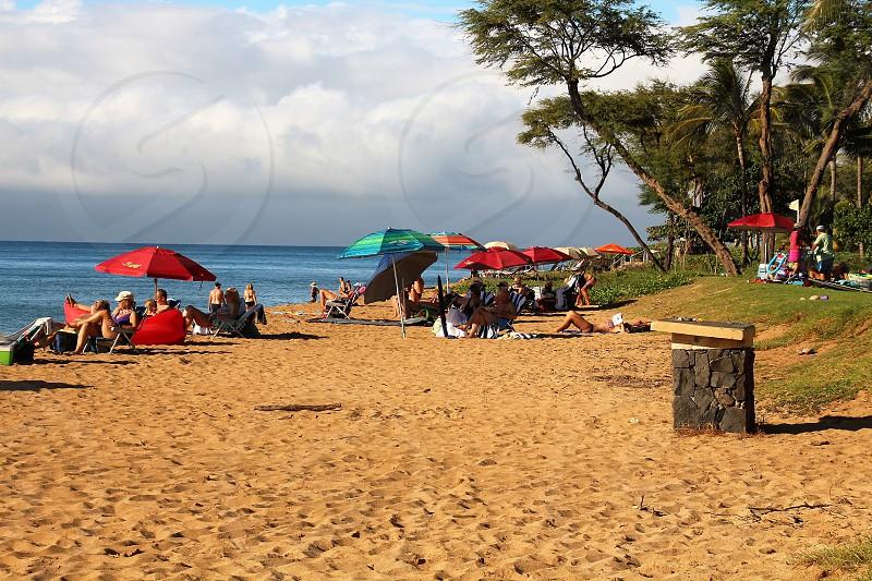 Beach at Kaanapali photo