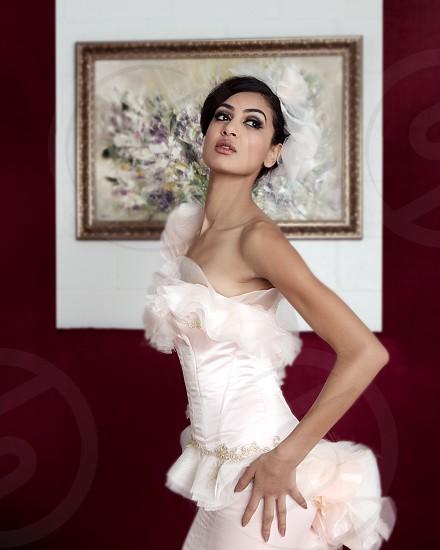 Beautifully dressed photo