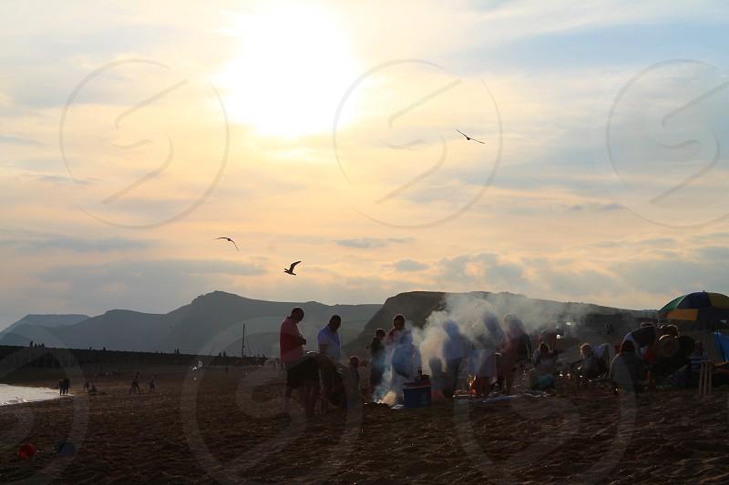 Beach BBQ  photo