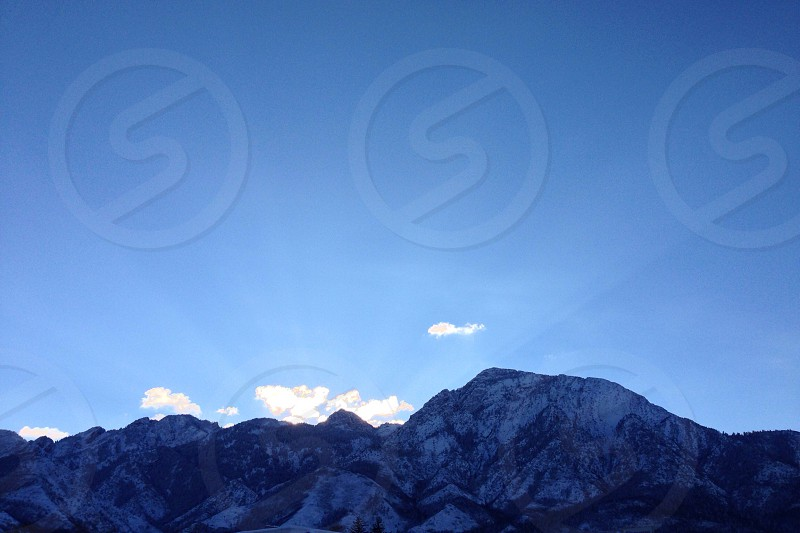 For the sun-worshippers :: dawn on Mount Olympus edition  photo