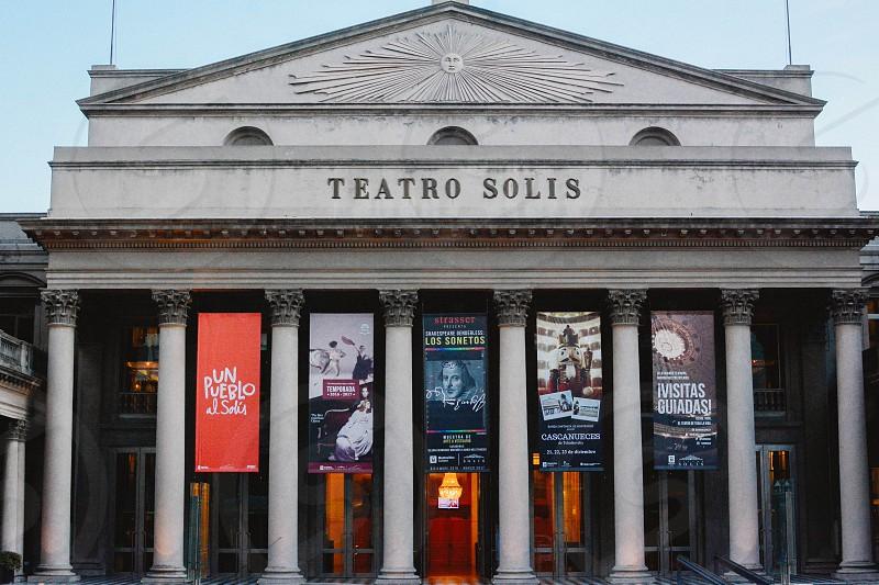 uruguay art theater montevideo photo