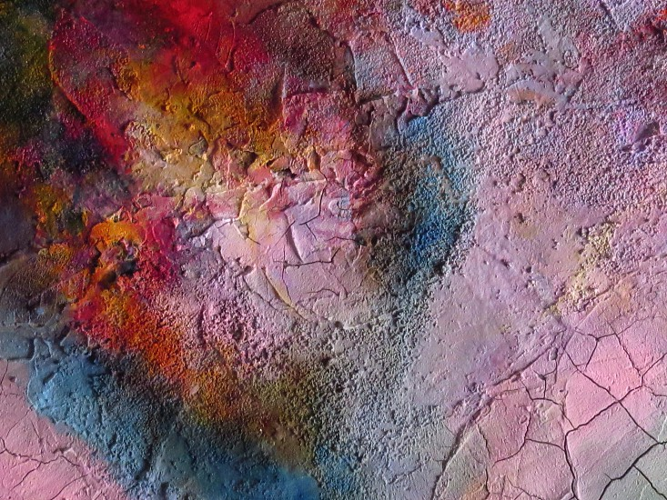 multicolored painting on concrete surface photo