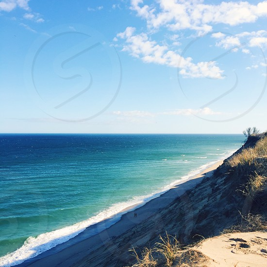 Reason to travel explore national seashore cape cod beach Atlantic Ocean water dune New England photo