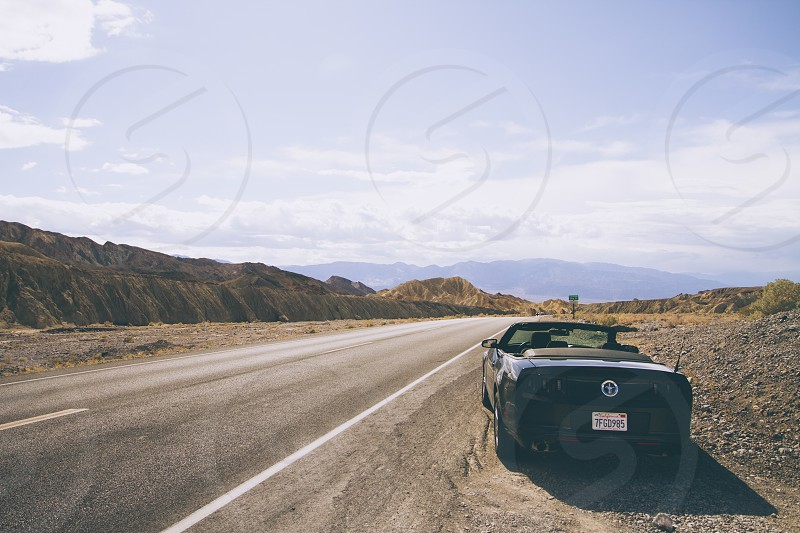Exploring Death Valley in California. Oddly enough I rented the mustang from hertz photo