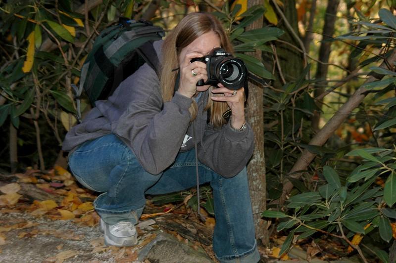 Nature photographer photo