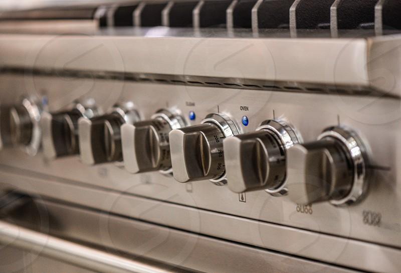 stainless steel gas stove knob photo