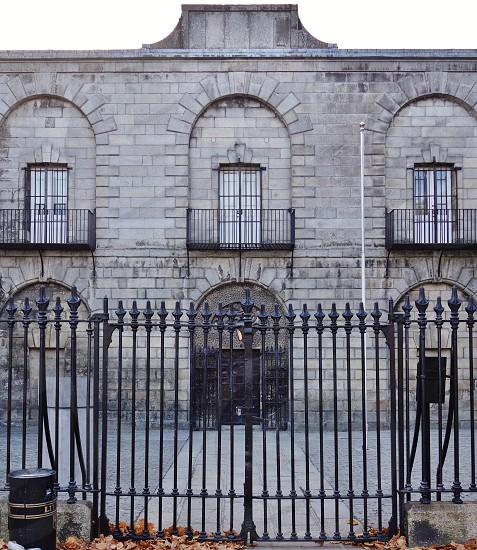 Kilmainham Gaol historic prison in Dublin Ireland photo