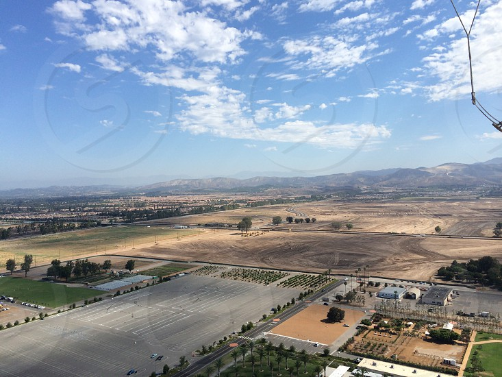 A view of Orange County from the Great Park balloon photo