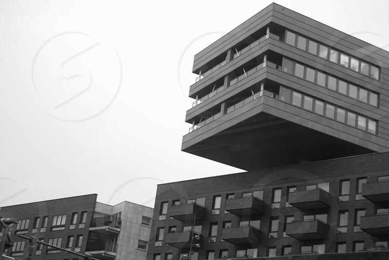 large geometric building photo