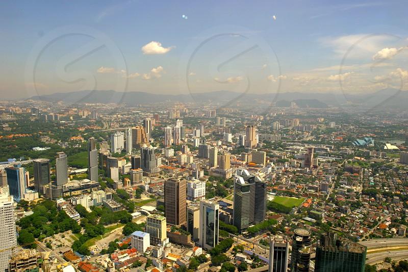 Skycrapper of Kuala Lumpur Malaysia photo